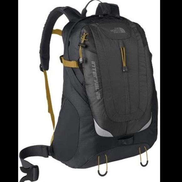neue sorten UK Verfügbarkeit große Auswahl an Farben und Designs North Face Interval 25 Backpack Daypack